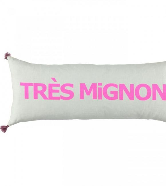 très mignon double cushion